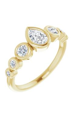 Stuller Bezel Engagement Ring 124658 product image