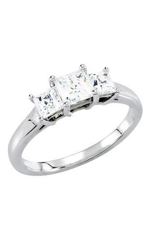 Princess Jewelers Collection Three Stones Engagement ring 67959 product image