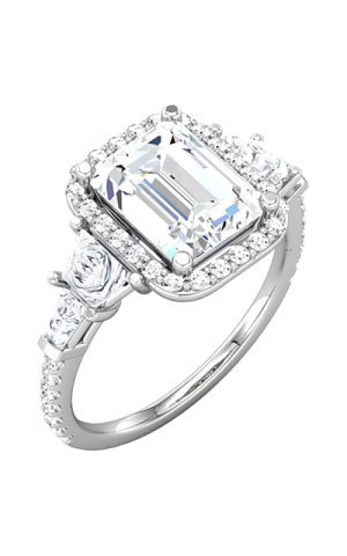 Princess Jewelers Collection Three Stones Engagement ring 68905 product image