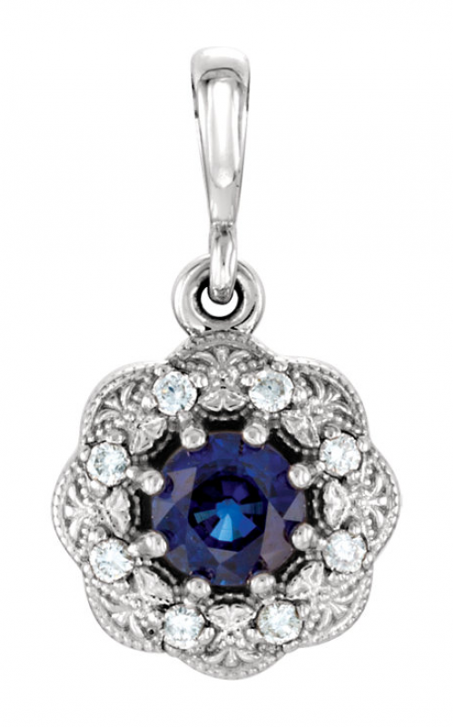Princess Jewelers Collection Gemstone Necklace 86244 product image