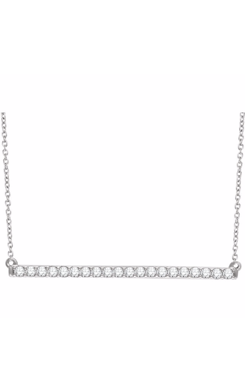 Sharif Essentials Collection Diamond Necklace 651084 product image