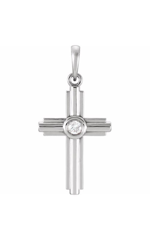 Stuller Diamond Fashion Necklace R42331 product image