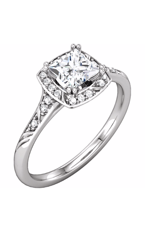 DC Halo Engagement ring 122020 product image