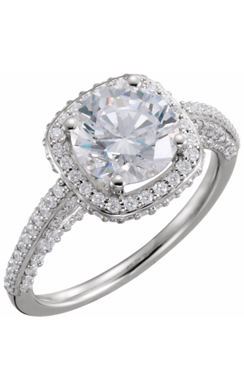 Stuller Halo Engagement ring 121892 product image