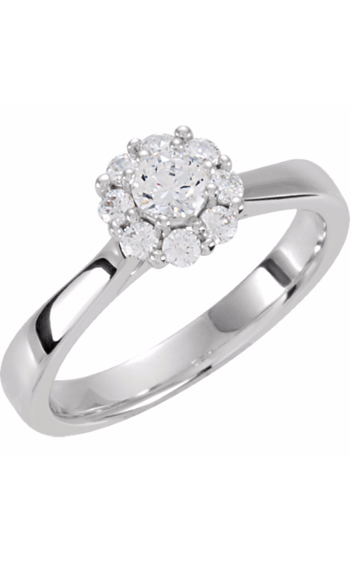 Stuller Halo Engagement ring 121688 product image