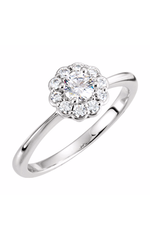 Stuller Halo Engagement ring 121703 product image