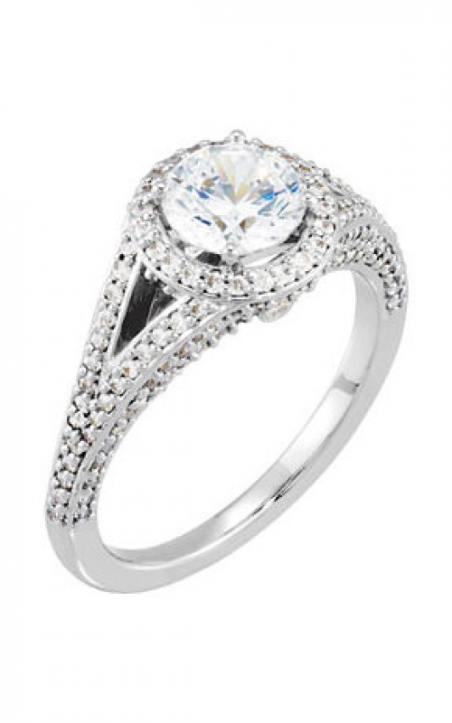 DC Halo Engagement ring 121657 product image
