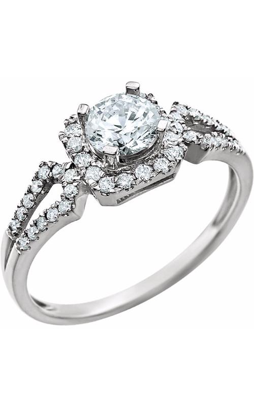 Stuller Halo Engagement ring 651770 product image