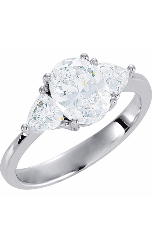 The Diamond Room Collection Three Stones Engagement ring 121907 product image