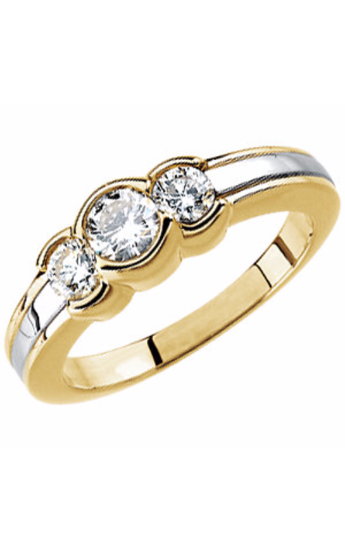 Stuller Three Stone Wedding Band 64149 product image