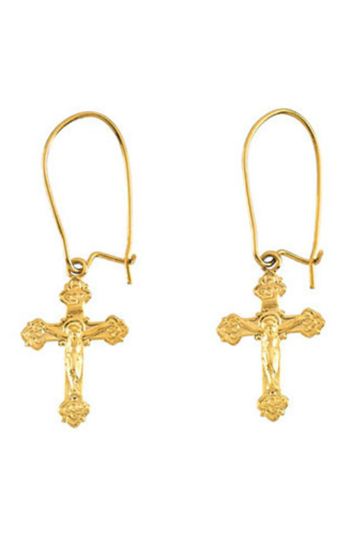 Fashion Jewelry by Mastercraft Religious and Symbolic Earring R16519 product image