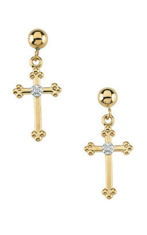Fashion Jewelry by Mastercraft Religious and Symbolic Earring R16557 product image