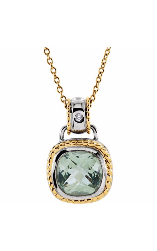 Fashion Jewelry by Mastercraft Gemstone Necklace 66573 product image