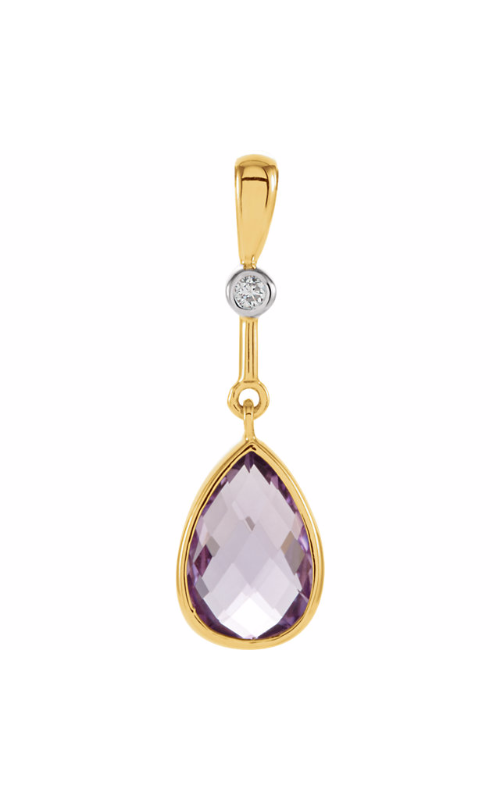 Princess Jewelers Collection Gemstone Necklace 67306 product image