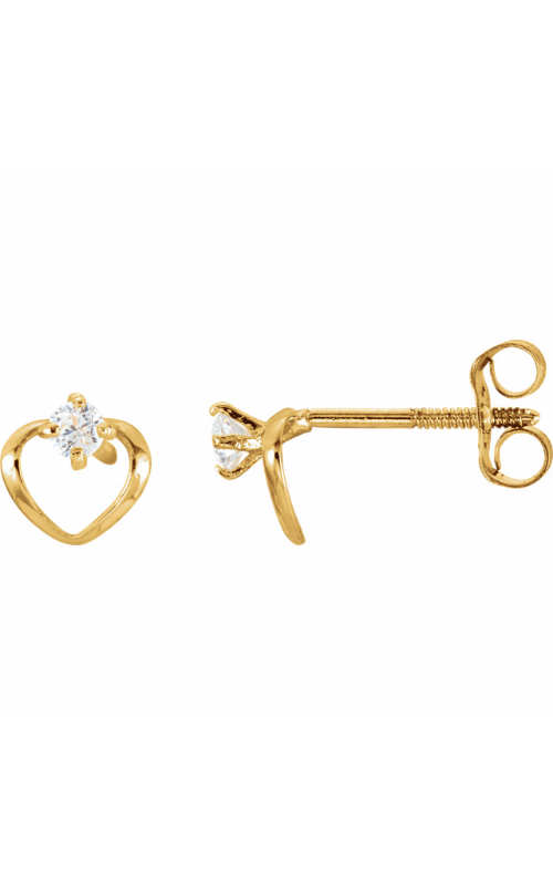 Stuller Youth Earring 19246 product image