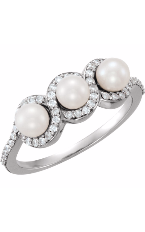 Fashion Jewelry by Mastercraft Pearl Fashion ring 6477 product image