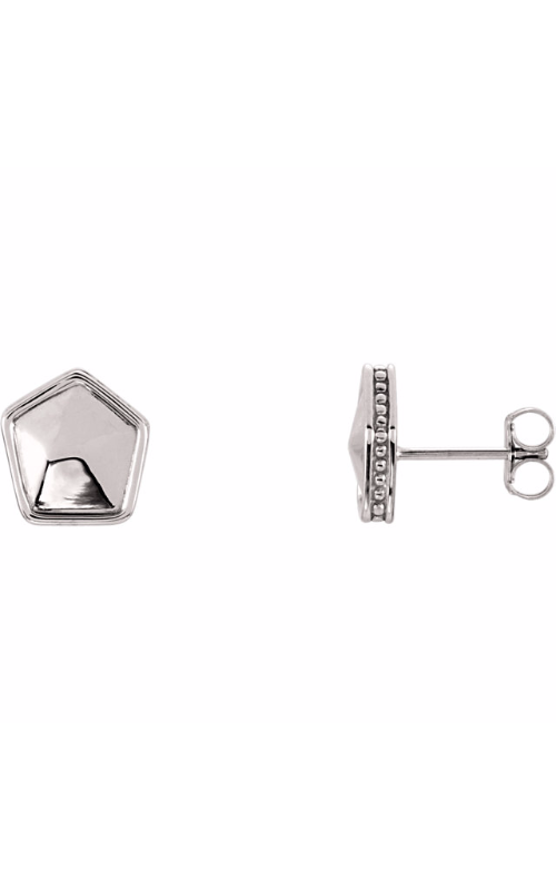 Fashion Jewelry by Mastercraft Metal Earring 85886 product image