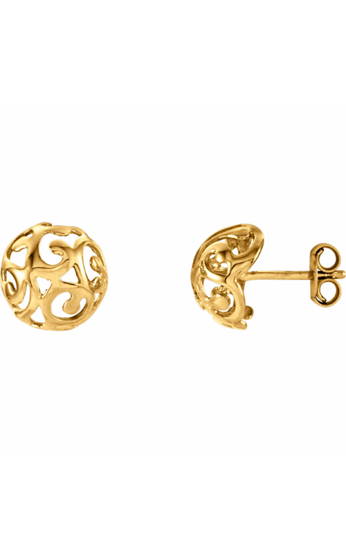 Fashion Jewelry by Mastercraft Metal Earring 85988 product image