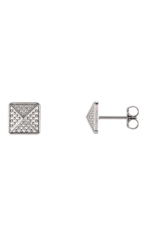 Fashion Jewelry by Mastercraft Metal Earring 85887 product image