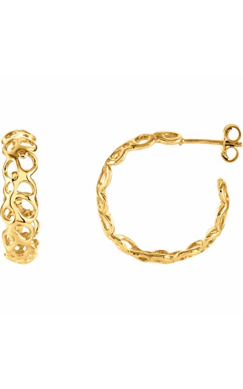 Stuller Metal Fashion Earrings 86046 product image