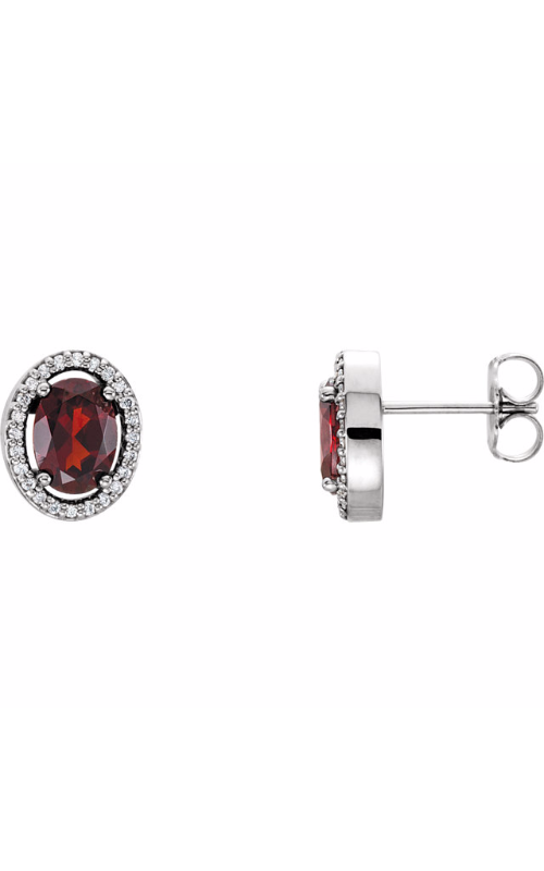 Princess Jewelers Collection Gemstone Earring 86070 product image