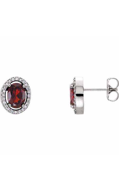 Stuller Gemstone Earrings 86070 product image