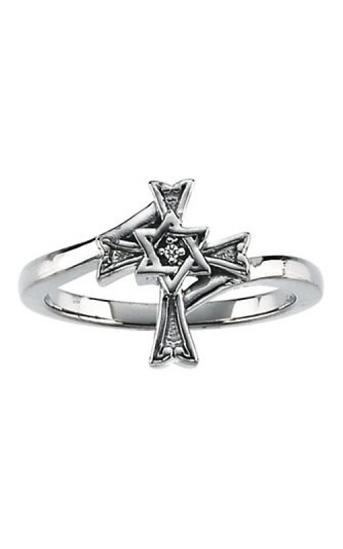 Fashion Jewelry by Mastercraft Religious and Symbolic Fashion ring R16680D product image