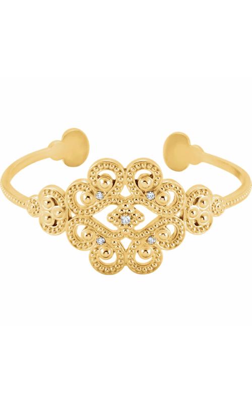 Fashion Jewelry by Mastercraft Metal Bracelet BRC744 product image