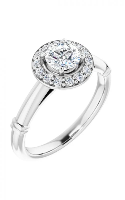 Stuller Halo Engagement ring 122177 product image