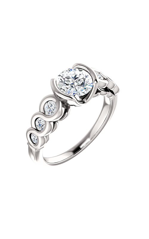 Stuller Sidestone Engagement Ring 121996 product image