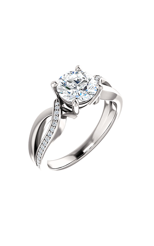 Stuller Sidestone Engagement Ring 122665 product image