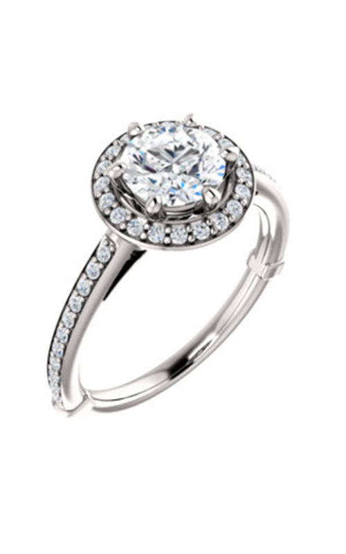 Stuller Halo Engagement Ring 122179 product image