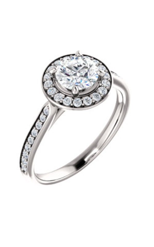 Stuller Halo Engagement Ring 123615 product image