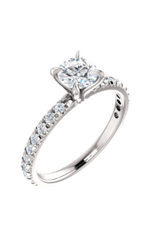 Stuller Sidestone Engagement Ring 123229 product image