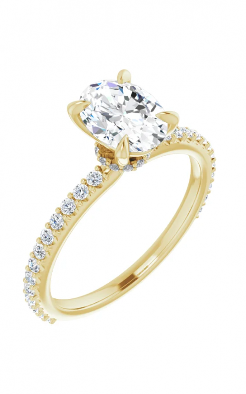 DC Accented Engagement ring 123305 product image