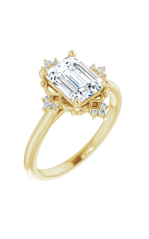 Princess Jewelers Collection Accented Engagement ring 124277 product image