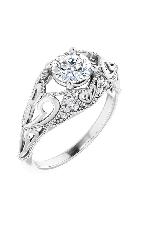 Stuller Vintage - Inspired Engagement ring 123590 product image