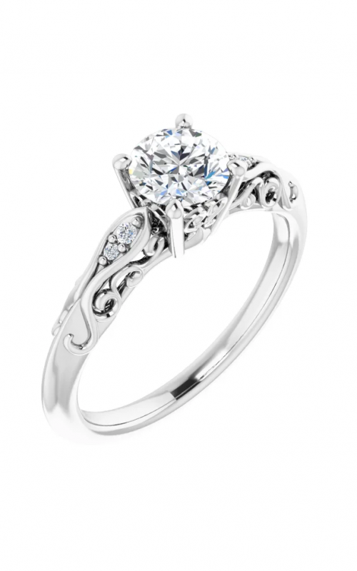 Princess Jewelers Collection Vintage - Inspired Engagement ring 123738 product image