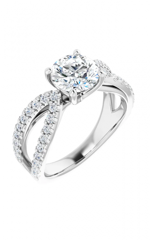 Stuller Accented Engagement ring 123748 product image