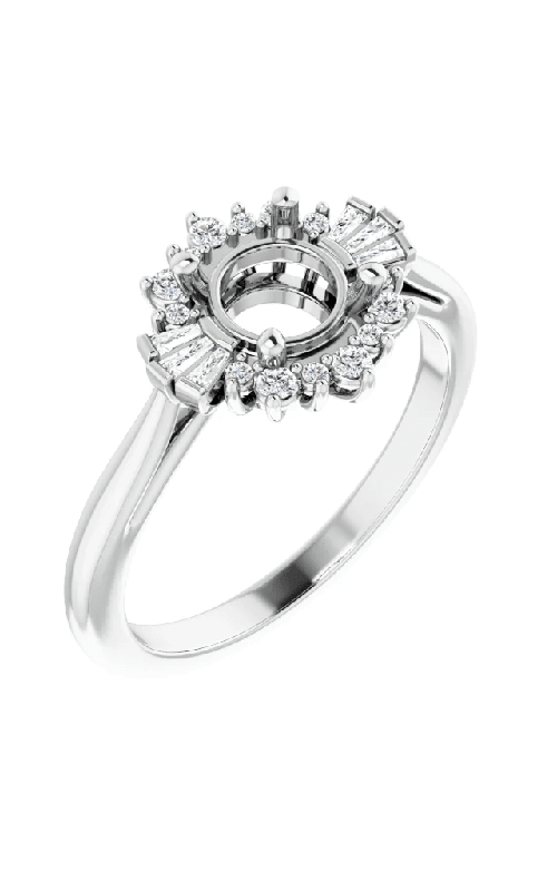 Princess Jewelers Collection Halo Engagement ring 123767 product image