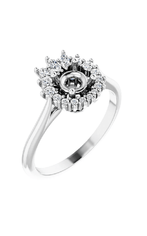 Princess Jewelers Collection Halo Engagement ring 123769 product image