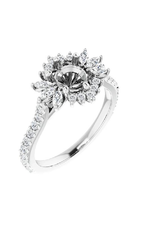 Stuller Halo Engagement Ring 123770 product image