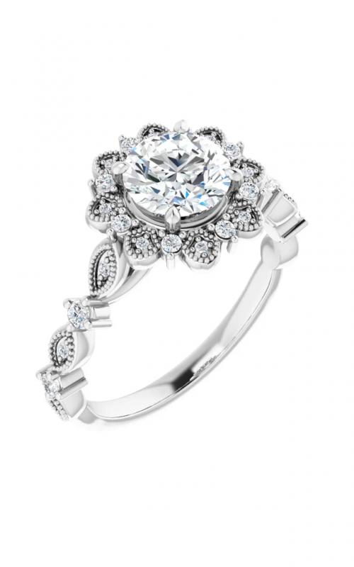 Stuller Halo Engagement Ring 123782 product image