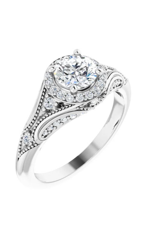 Sharif Essentials Collection Vintage - Inspired Engagement ring 123833 product image