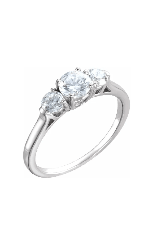 Sharif Essentials Collection Three Stones Engagement ring 121591 product image