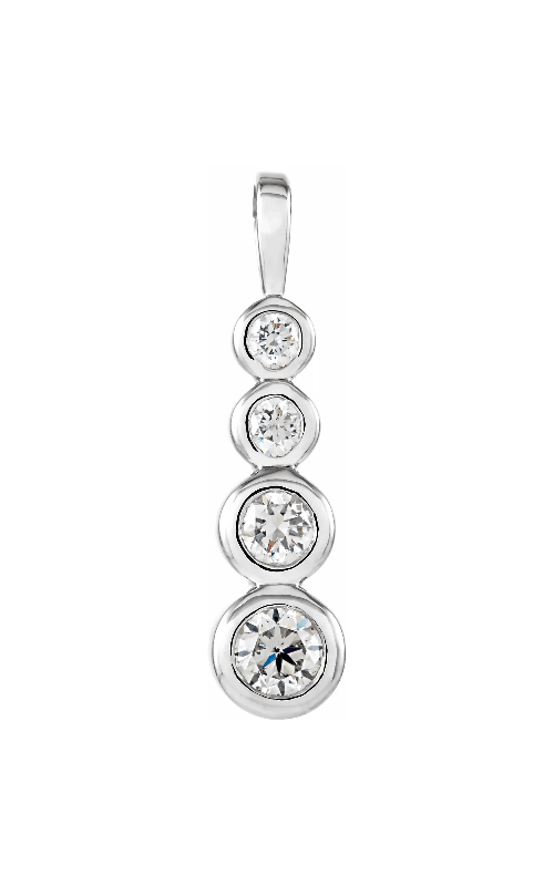 Princess Jewelers Collection Diamond Necklace 65401 product image