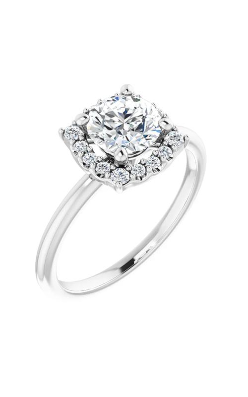 DC Halo Engagement ring 124777 product image