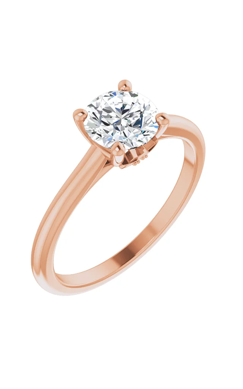 DC Accented Engagement ring 124764 product image