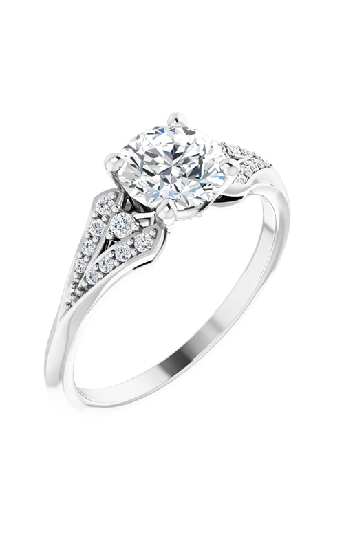 DC Accented Engagement ring 124664 product image