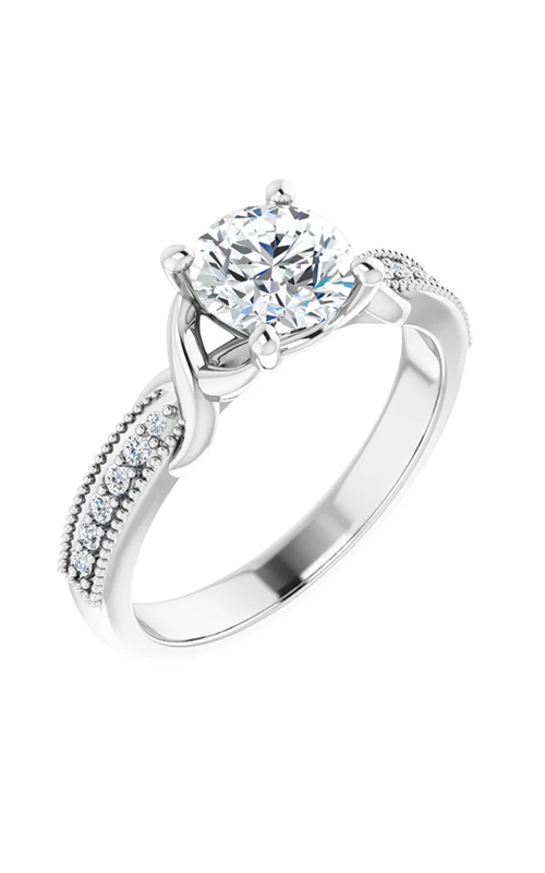 DC Accented Engagement ring 124660 product image